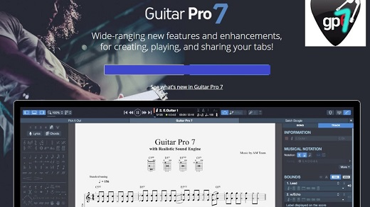 Guitar Pro 7.5.4 Crack + License Key Free Download {Mac+Win} Latest