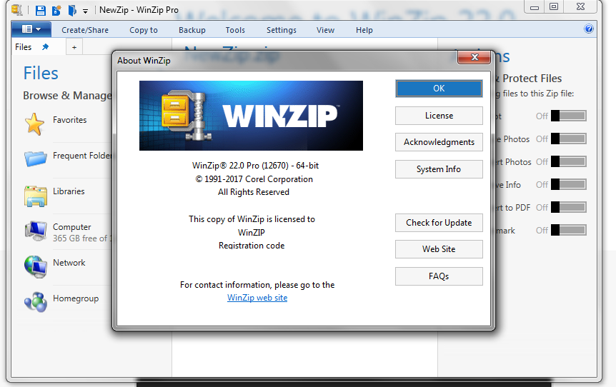 WinZip Pro 24.0 Crack + Activation Code [Win+ Mac] {2020}