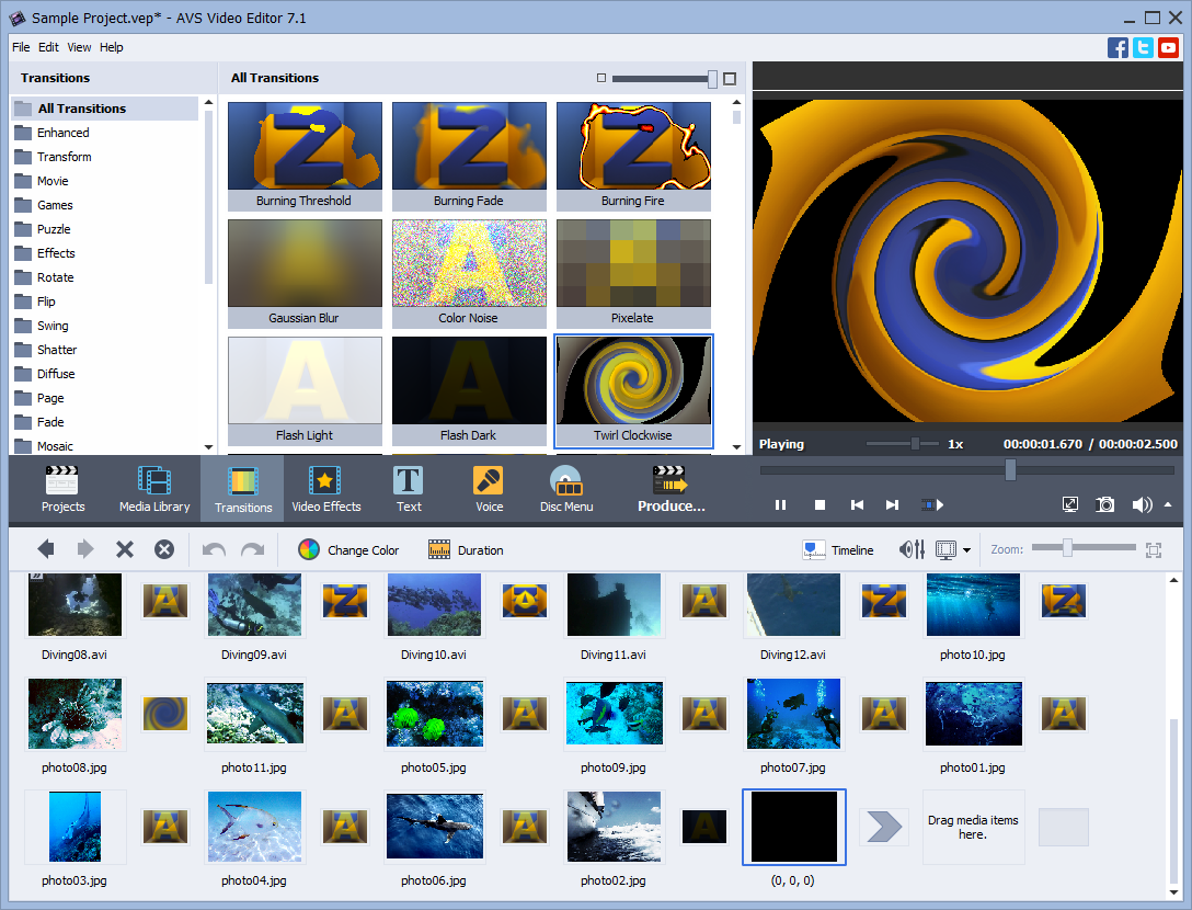 AVS Video Editor 9.1.2.540 Crack + License Key Full 2020 Download