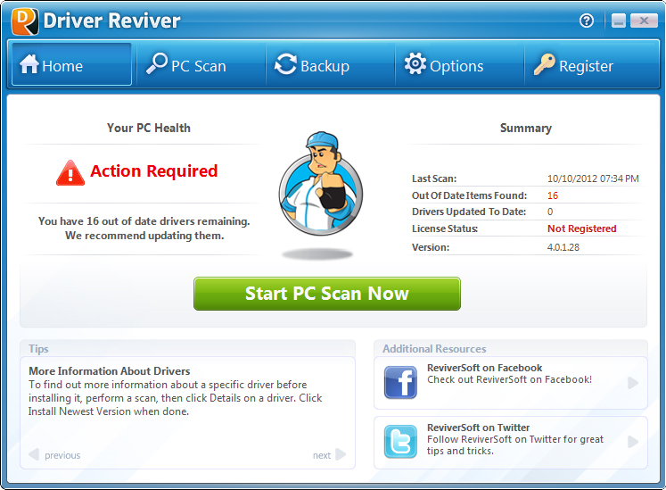 Driver Reviver 5.27.0.22 Crack + License Key Full Download [Updated]
