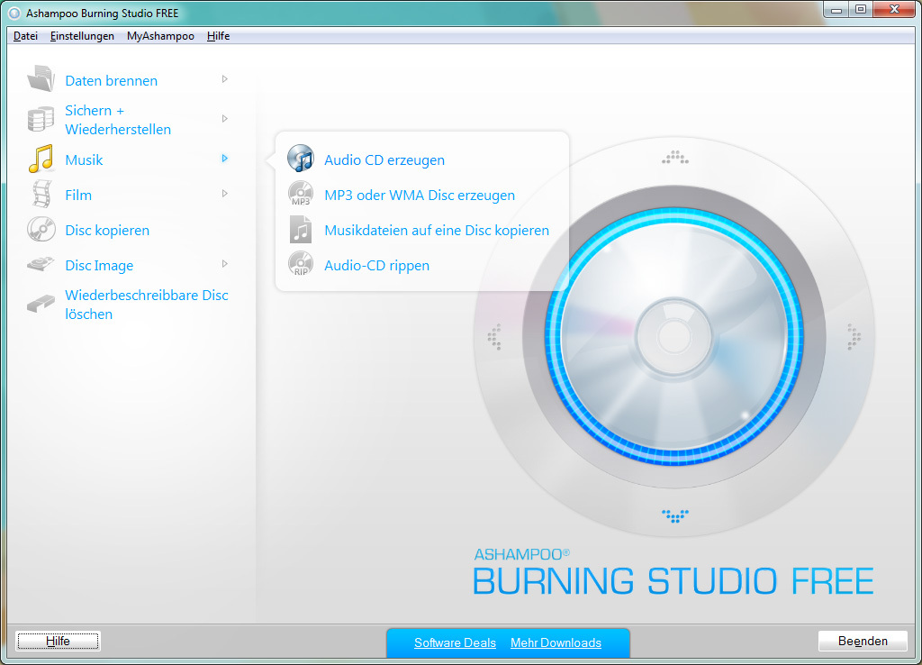 Ashampoo Burning Studio 21.6 Crack + Licence Key Full Download