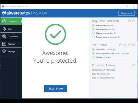 Malwarebytes Anti-Malware 3.7.1 Key 2019 Download