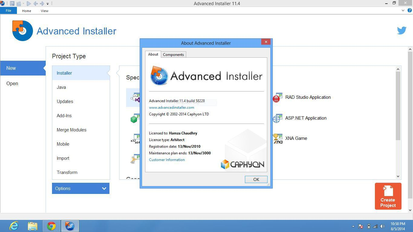 Advanced Installer 17.1.1 Crack + Keygen Full Download 2020
