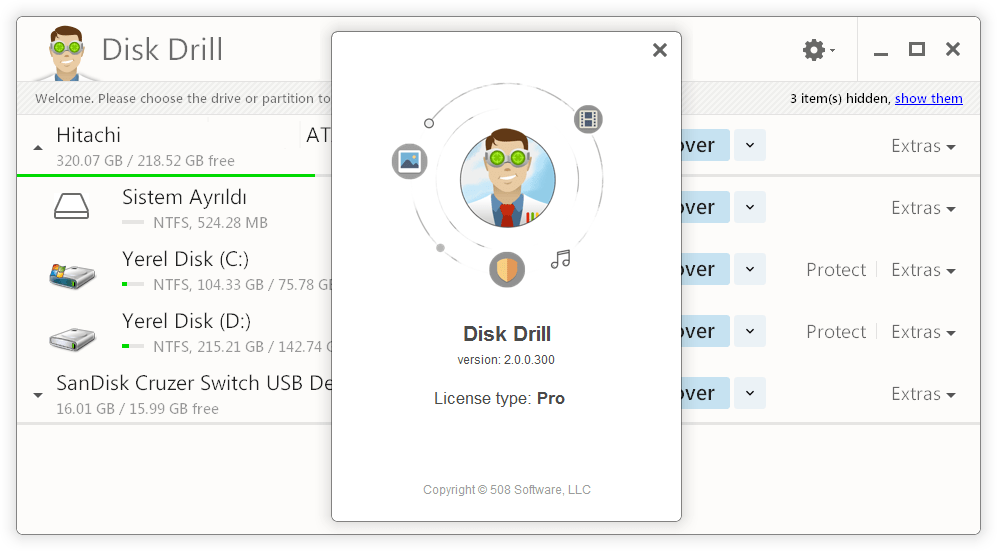 Disk Drill Pro 2.0.0.339 Crack & Activation Code [Mac + Windows] Download