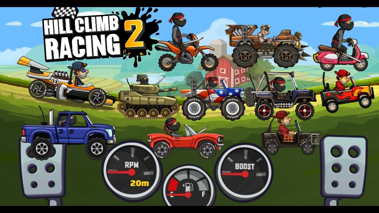 Best Cars Hill Climb Racing