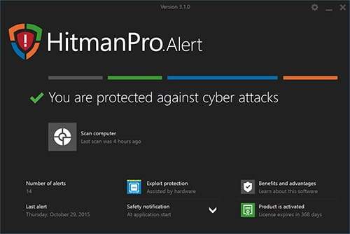 HitmanPro 3.8.14 Crack + Serial Key 2019 Free Download