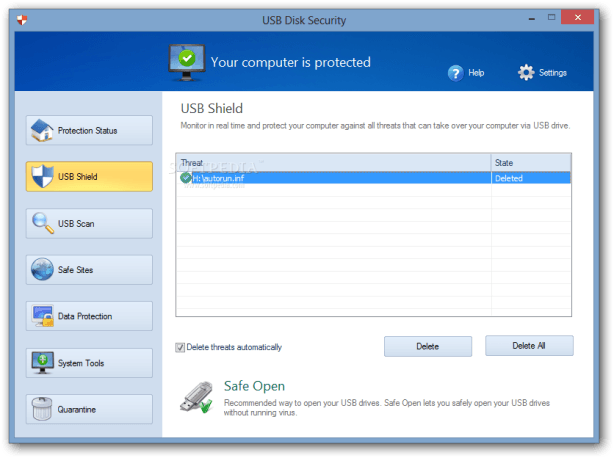 USB Disk Security 6.6.0.0 Crack & Serial key for windows 7 2018