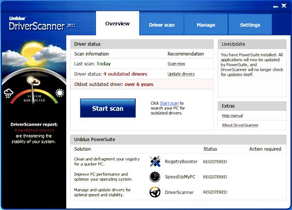 Uniblue DriverScanner Crack + Serial Key Free Download 2020