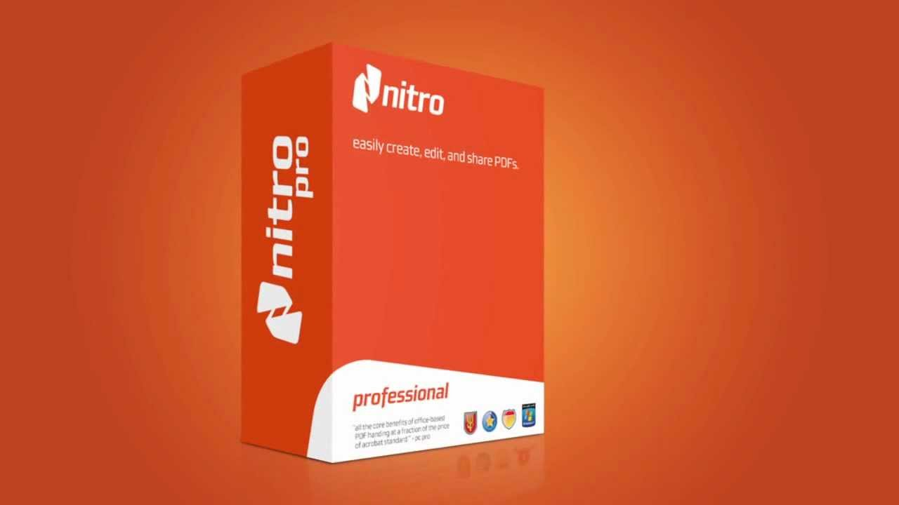 Nitro Pro 12.5.0.268 Crack + Serial Key Full Version 2018 [Updated]