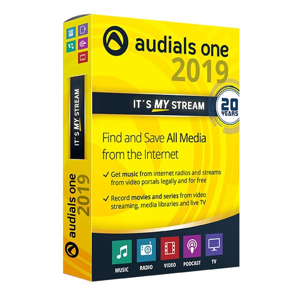 Audials One 2019.0.8700.0 Crack + License Key Free Download [Latest]