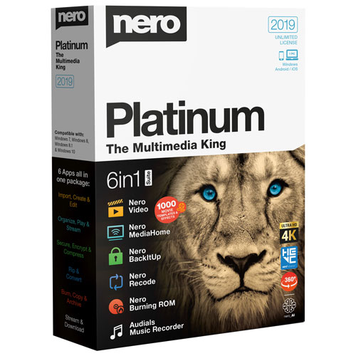 Nero 2019 Platinum Crack + License Key Free Download