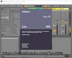 Ableton Live 10.1.17 Crack